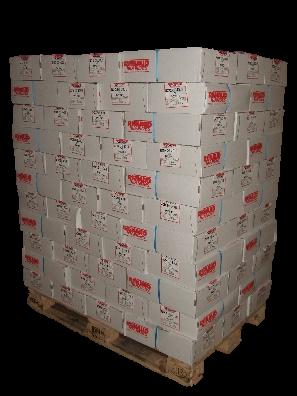 palette cartons